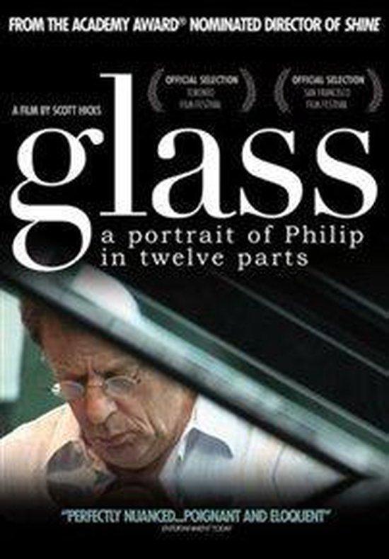 Cover van de film 'Glass - A Portrait Of  Phillip In Twelve Parts'