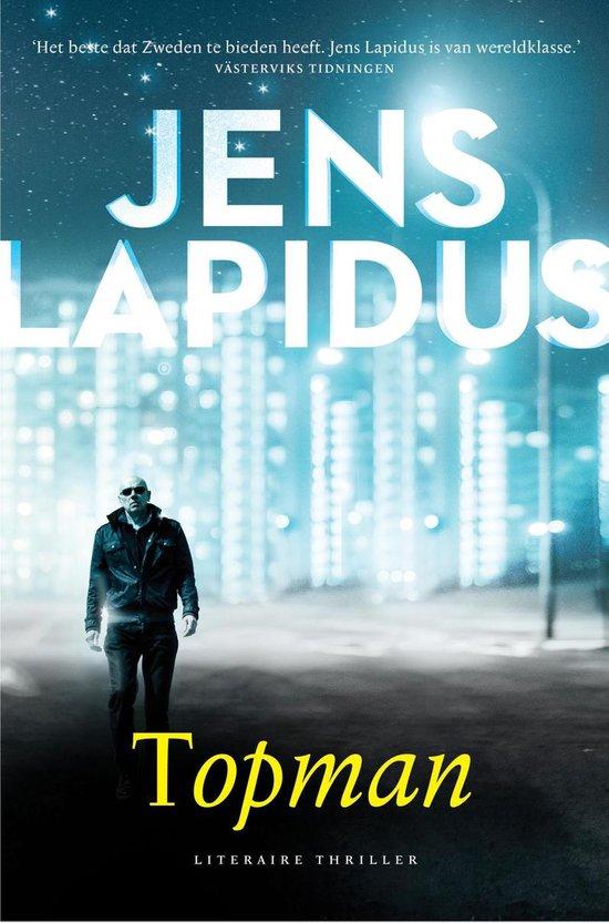 Boek cover Topman van Jens Lapidus (Paperback)
