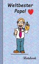 Weltbester Papa - Notizbuch