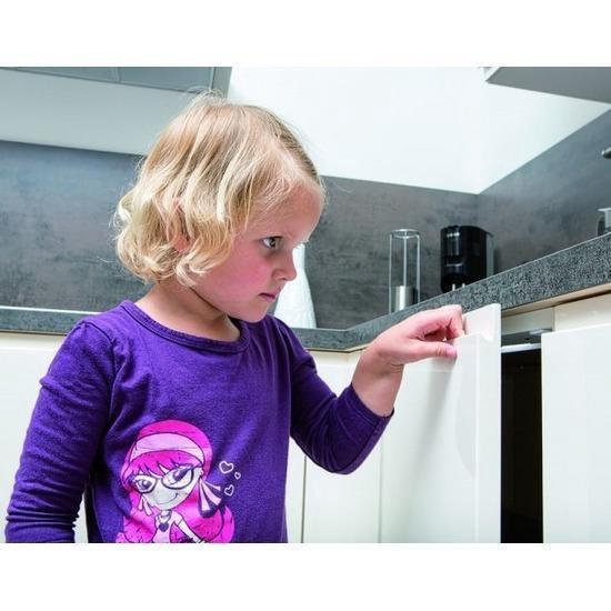 Veiligheidshaakjes kinderslot voor laden en kastdeurtjes - 12 stuks
