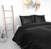 Sleeptime Beauty Skin Care Dekbedovertrek - Lits-Jumeaux- 240x200/220 + 2 kussenslopen 60x70 - Zwart
