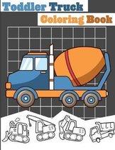 Toddler Truck Coloring Book