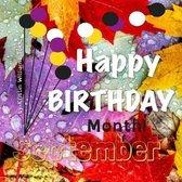 Happy Birthday Month- September