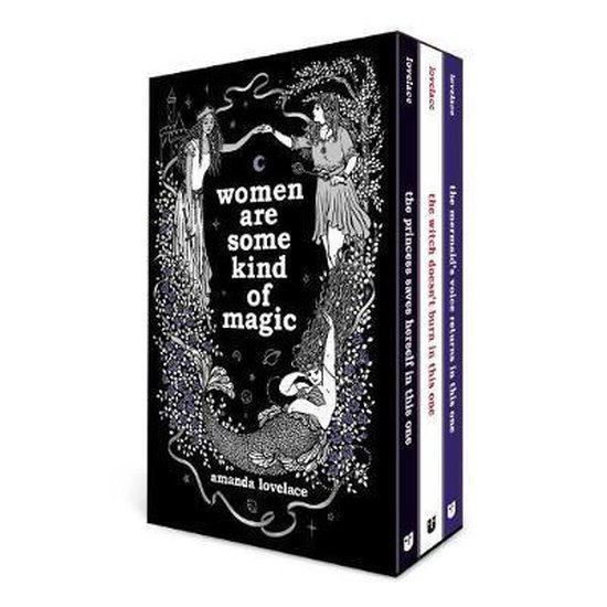 Boek cover Women Are Some Kind of Magic boxed set van Amanda Lovelace (Hardcover)