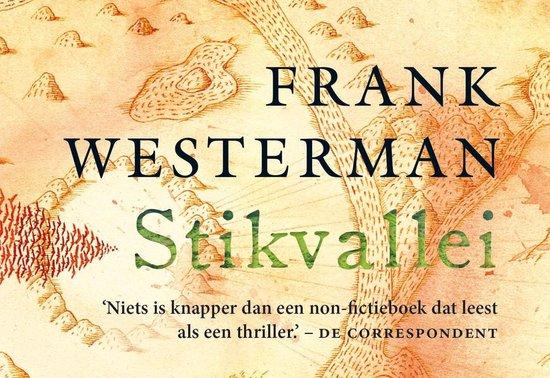 Boek cover Stikvallei van Frank Westerman (Onbekend)