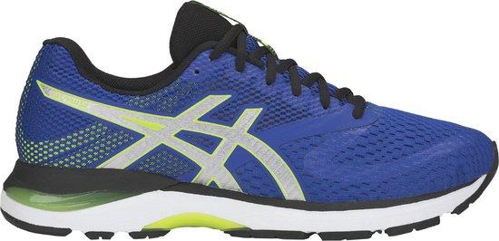 Asics Gel-Pulse 10 Hardloopschoenen Heren Sportschoenen - Maat 41.5 -  Mannen - blauw/geel/zwart
