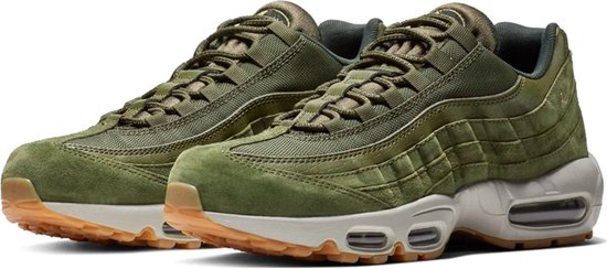 nike air max 95 groen wit