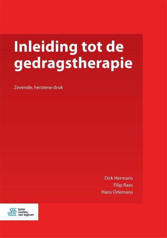 Inleiding tot de gedragstherapie - D Hermans |
