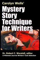Omslag Carolyn Wells' Mystery Story Technique for Writers