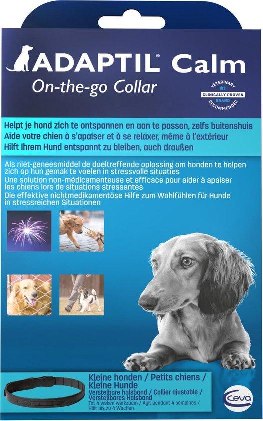 Adaptil Halsband - Antistressmiddel Hond - S/M - 45 cm
