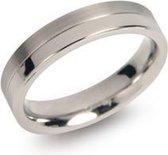 Boccia Titanium 0129-01 Ring - Titanium - Zilverkleurig