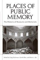 Boek cover Places of Public Memory van Greg Dickinson