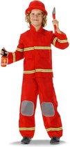 Brandweerpak 3delig - Kindermaat 98 / 116