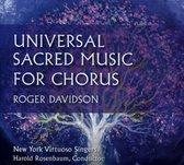 Roger Davidson: Universal Sacred Music for Chorus