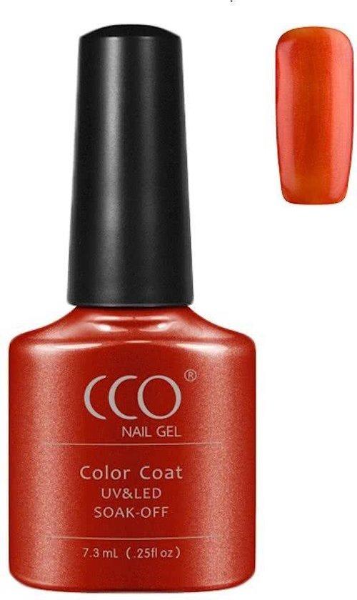 CCO Shellac-Fine Vermillion 90624-Oranje-Roest-Gel Nagellak