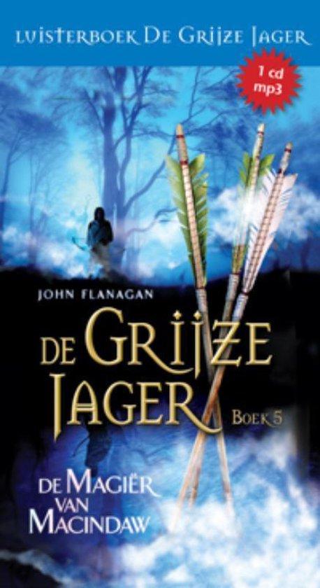 Cover van het boek 'De magier van Macindaw' van John Flanagan