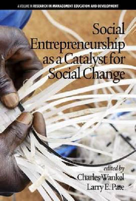 Social Entrepreneurship as a Catalyst for Social Change