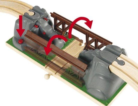 Speelgoed   Wooden Toys - Klapbrug (33381) - BRIO