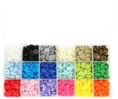 Kam snaps 18 kleuren (glans) 25 snaps