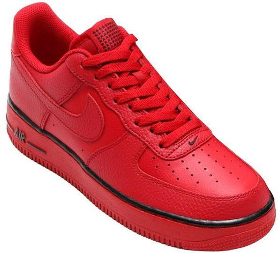 bol.com | Nike Sneakers Air Force 1 Heren Rood Maat 43