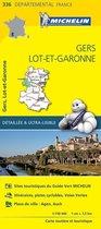Gers / lot - et - garonne 11336 carte ' local ' ( France ) michelin kaart
