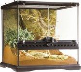 Exo Terra Glazen Mini Terrarium - 30 x 30 x 30 cm - Zwart