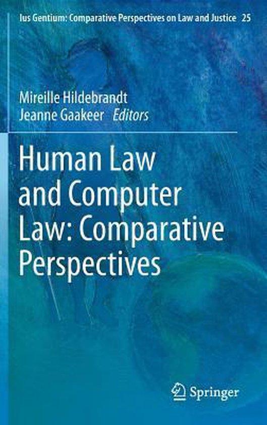 Boek cover Human Law and Computer Law van  (Hardcover)