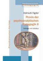 Omslag Praxis der psychoanalytischen Padagogik II