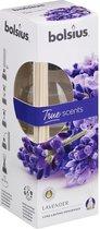 Geurstokjes 45ml LAVENDEL   True Scents Bolsius   Long lasting fragrance   geurverspreider