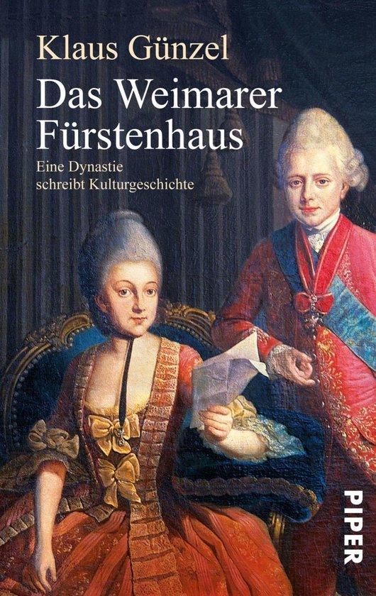 Boek cover Das Weimarer Fürstenhaus van Klaus Günzel (Onbekend)
