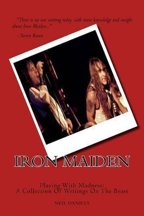 Boek cover Iron Maiden - Playing with Madness van Neil Daniels (Paperback)