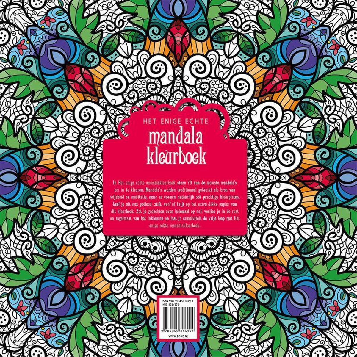 Verwonderend bol.com | Het enige echt mandala kleurboek, Diverse auteurs LO-66