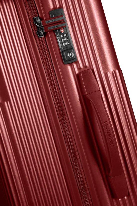 Samsonite Reiskoffer - Rectrix Spinner 76/28 (Large) Matte Mid Red - Samsonite