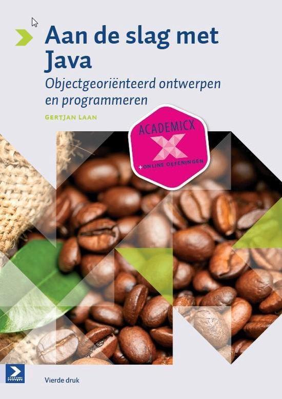 Cover van het boek 'Aan de slag met Java'