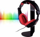 Staande Koptelefoon Houder - Headset Houder - Hoofdtelefoon Stand / Standaard - Zwart