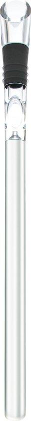 Point-Virgule Wijnkoeler - Wijnkoelstick met Schenktuit - RVS/Acryl - 32cm