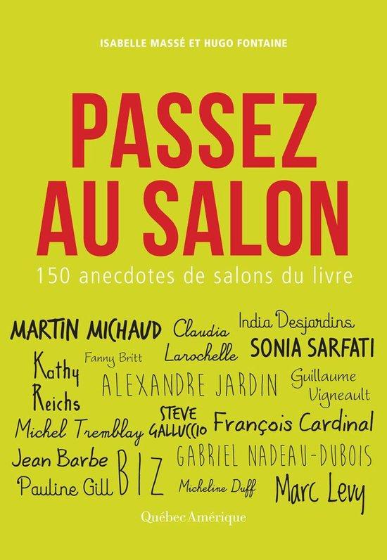 Boek cover Passez au salon van Isabelle Masse (Onbekend)