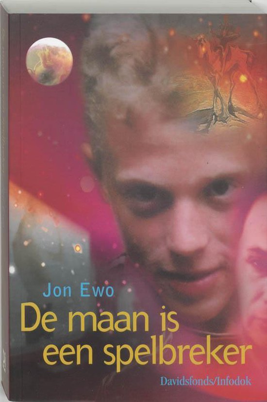 Cover van het boek 'De maan is een spelbreker' van Jon Ewo en J. Ewo