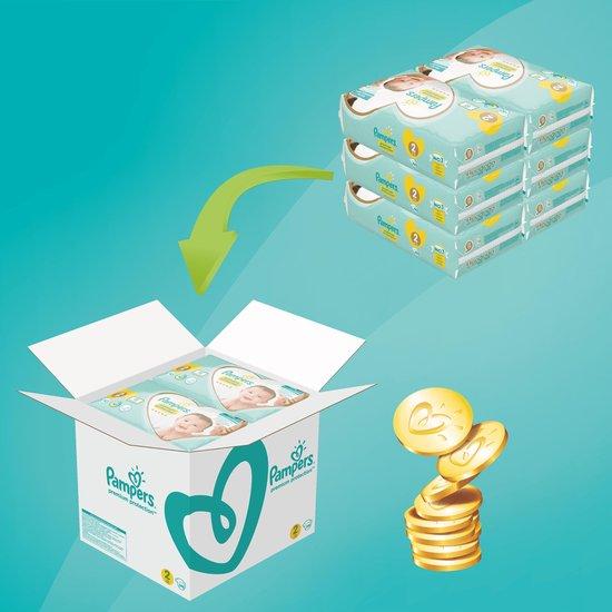 Pampers Premium Protection Luiers - Maat 2 (4-8 kg) - 240 stuks - Maandbox - Pampers