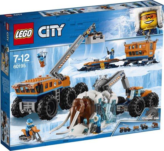 LEGO City Arctic Mobiele Onderzoeksbasis op de Noordpool - 60195 - LEGO
