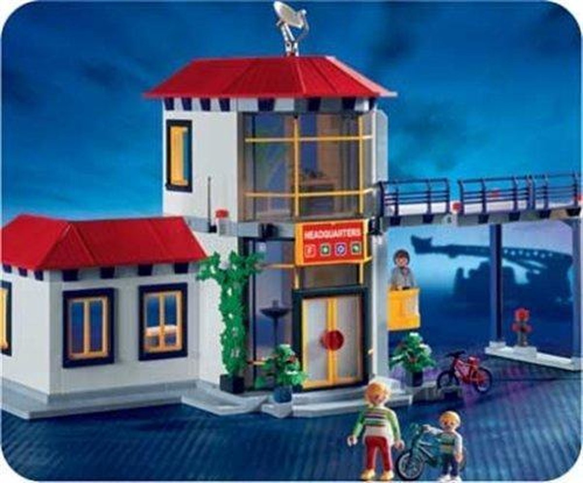 Playmobil Brandweerstation - 3175