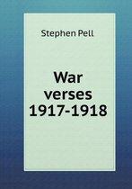 War Verses 1917-1918