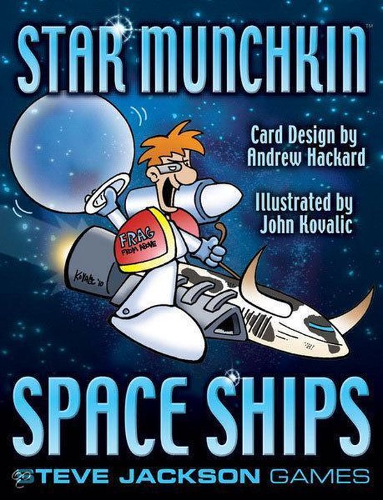 Afbeelding van het spel Star Munchkin: Space Ships Uitbreiding