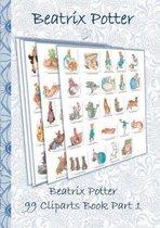 Beatrix Potter 99 Cliparts Book Part 1 ( Peter Rabbit )