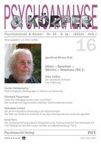 Psychoanalyse Und Koerper Nr. 16