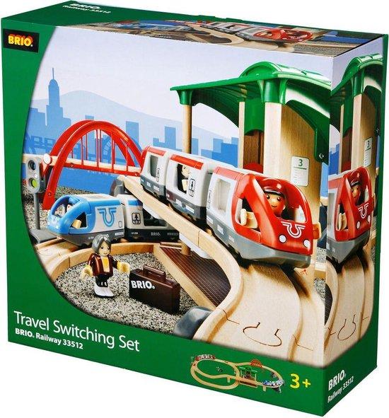 Afbeelding van BRIO Treinset met perron - 33512 speelgoed