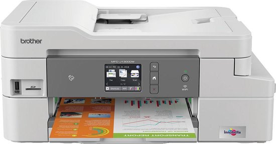 Brother MFC-J1300DW - All-In-One Box Inkjet Printer