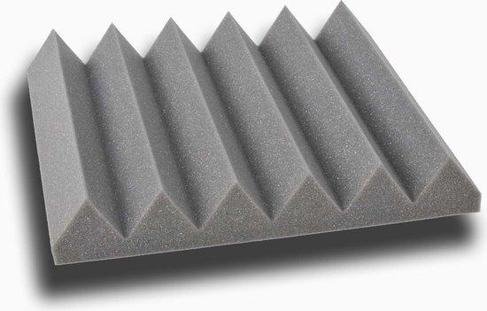 Wedge akoestisch studioschuim 30x30cm 5cm dik (12 stuks)