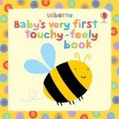 Boek cover Babys Very First Touchy-Feely Book van Stella Baggott