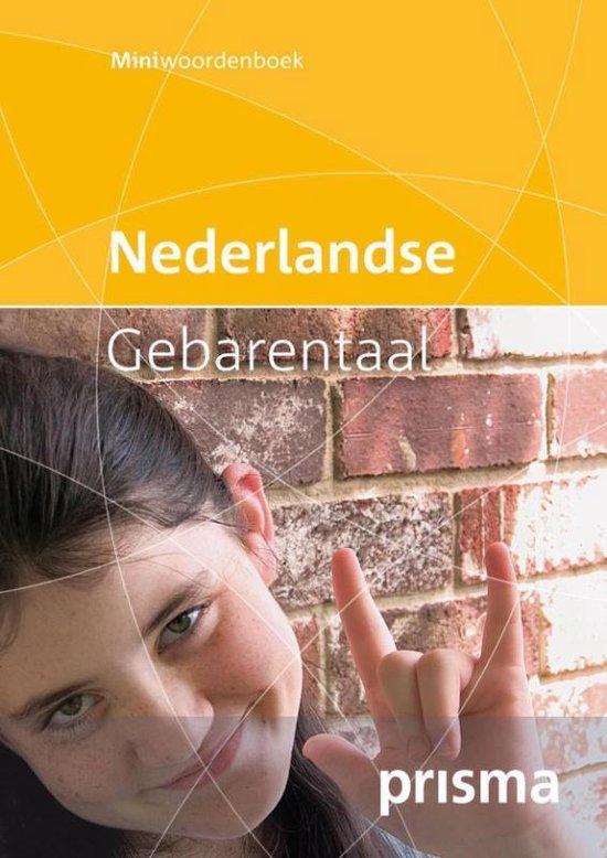 Prisma miniwoordenboek Nederlandse Gebarentaal - Prismaredactie  